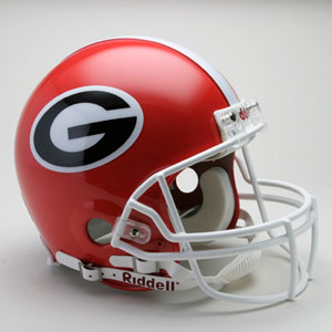 Georgia Bulldogs Authentic Full Size Riddell Helmet